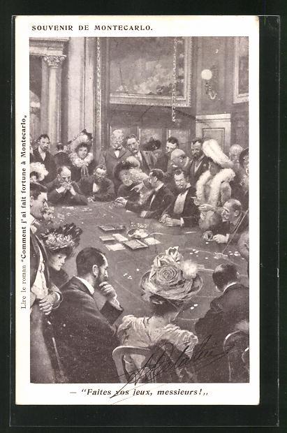 AK Monte-Carlo, Glücksspiel im Casino