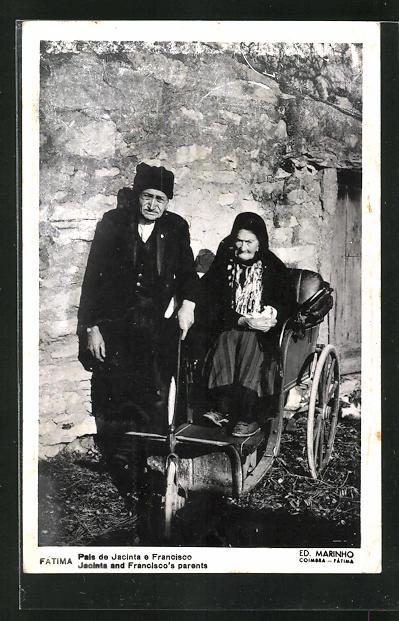 AK Fatima, Pais de Jacinta e Francisco