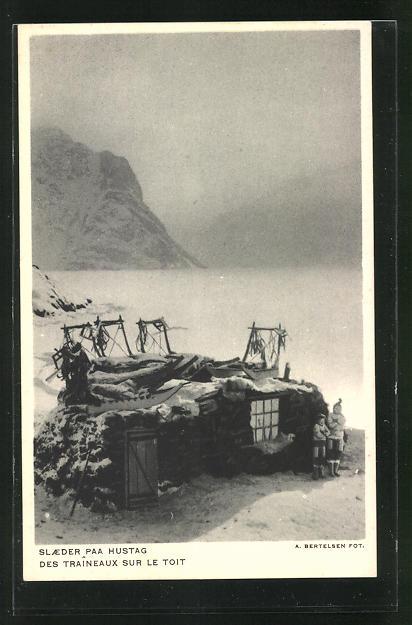 AK Grönland, Des Traineaux sur le Toit, Haus am See