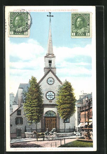 AK Quebec, Church of Notre-Dame des Victoires
