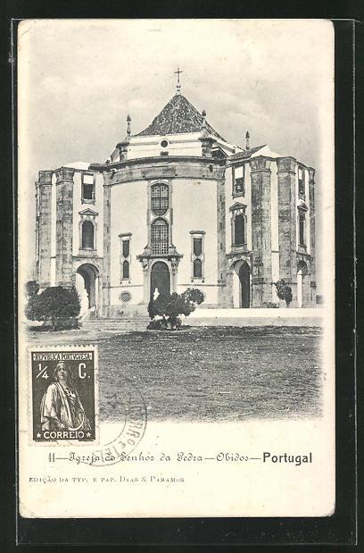 AK Obidos, Igreja do Senhoz da Pedra 0