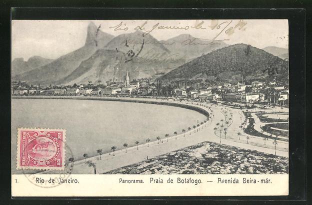 AK Rio de Janeiro, Praia de Botafogo, Avenida Beira-már
