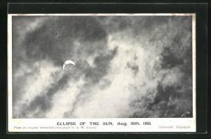 AK Eclipse of the Sun, Sonnenfinsternis 1905
