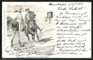 AK Burenkrieg, Colonel Plumer, B.S.A. Police