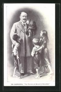 AK Portrait Dr. Bernardo, The Father of Nobody`s Children