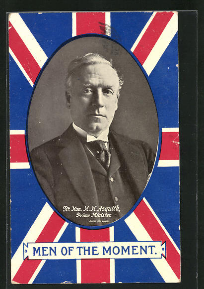 AK men of the Moment, Rt. Hon. H. H. Asquith, Prime Minister
