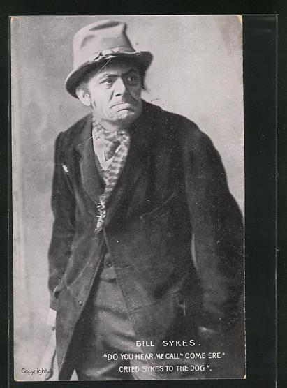 AK Bill Sykes, Charles Dickens Charakter, Schauspieler