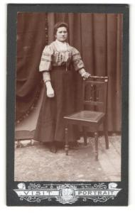 Fotografie Franz Sternath, München, Portrait junge bürgerliche Dame