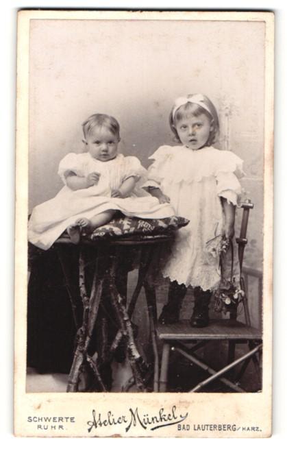Fotografie Atelier Münkel, Schwerte a/Ruhr & Bad Lauterberg i/Harz, Portrait Säugling und Mädchen