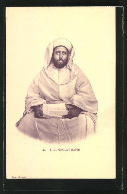 AK Sultan Moulay-Hafid von Marokko