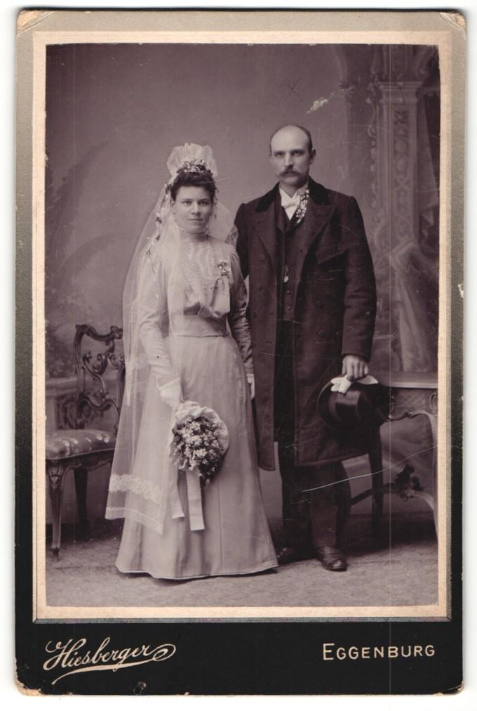 Fotografie Hiesberger, Eggenburg, Portrait Braut und Bräutigam, Hochzeit