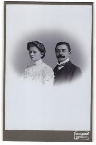 Fotografie Atelier Zarschler, Eibenstock i/S, Portrait junges bürgerliches Paar