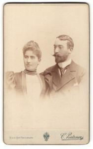 Fotografie C. Pietzner, Wien, Portrait gutbürgerliches Paar