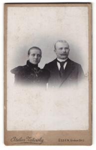 Fotografie Atelier Zaborsky, Essen, Portrait junges bürgerliches Paar