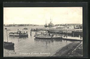 AK Portsmouth, Entrance to Harbour, Hafen