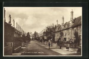AK Wells, The Vicars Close