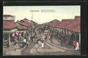 AK Colombo, Native quarters