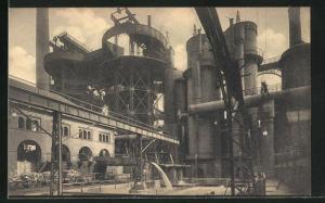 AK Couillet, Usines Metallurgiques du Hainaut, Granulation du laitier