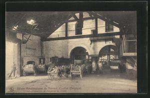 AK Couillet, Usines Metallurgiques du Hainaut, Preparation de chargement du mineral