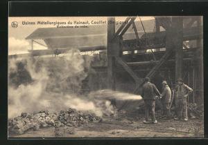 AK Couillet, Usines Metallurgiques du Hainaut, Extinction du coke
