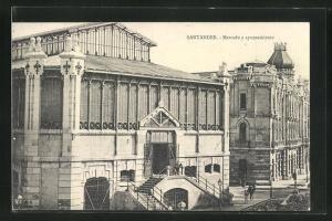 AK Santander, Mercado y ayuntamiento