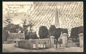 AK Painswick, Church, East Gate
