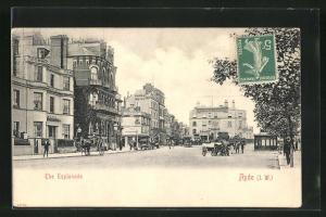 AK Ryde, The Esplanade, Royal Pier Hotel, Eagle Hotel, Hotel Royal Esplanade