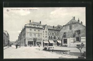 AK Neufchateau, Place de l`Hotel-de-Ville