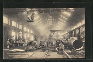 AK Couillet, Usines Metallurgiques du Hainaut, Chaudronnerie