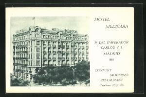 AK Madrid, Hotel Mediodia