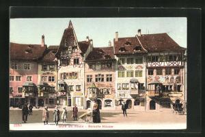AK Stein am Rhein, Bemalte Häuser