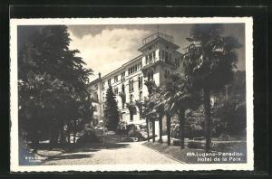 AK Lugano-Paradiso, Hotel de la Paix