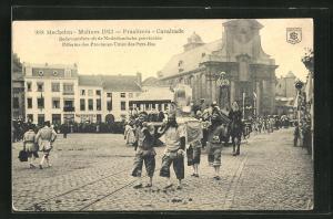 AK Malines, Pélerins des Provinces-Unies des Pays-Bas, Praaltrein-Cavalcade