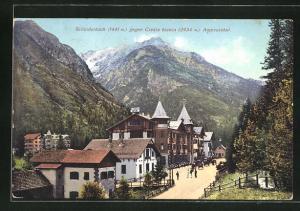 AK Schluderbach-Ampezzotal, Teilansicht gegen Cresta bianca