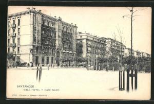 AK Santander, Gran Hotel y Cafe Suizo