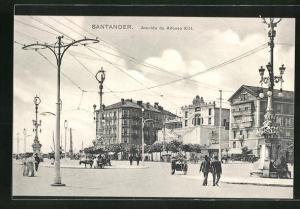 AK Santander, Avenida de Alfonso XIII.