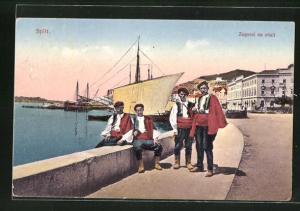 AK Split, Zagorci na obali