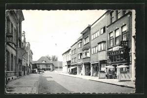 AK Lokeren, Rue de la Gare, Strassenpartie