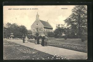 AK Reading, Forbury Gardens & R.C. Church