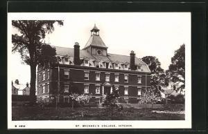 AK Hitchin, St. Michael's College