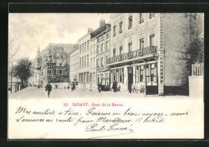 AK Dinant, Quai de la Meuse