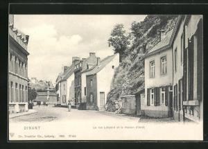 AK Dinant, La rue Léopard et la maison d'Arrét