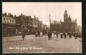 AK St. Yarmouth, Town Hall & Quay