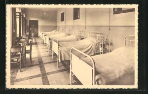 AK Obourg, Sanatorium Edith Cavell, Dortoir a six lits