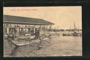 AK Colombo, Landing Jetty and Harbour