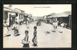 AK Colombo, Une Rue, Kinder