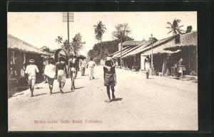 AK Colombo, Street Scene Galle Road
