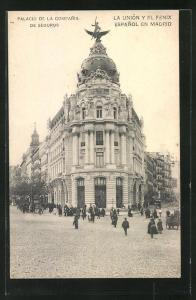 AK Madrid, Palacio de la Compania de Seguros