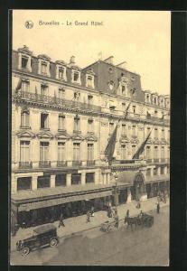 AK Brüssel / Bruxelles, Le Grand Hotel