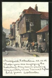 AK Folkestone, Corner of the old fish-market